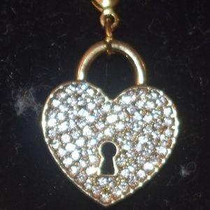 Gold Heart Charm